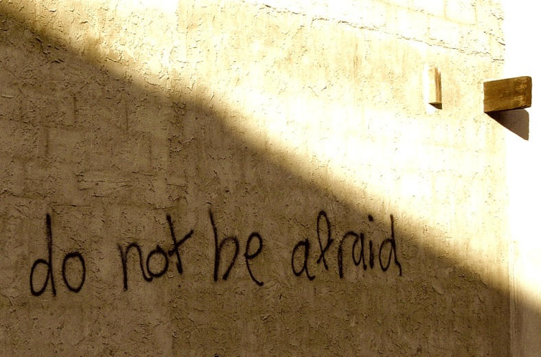 do not be afriad wall