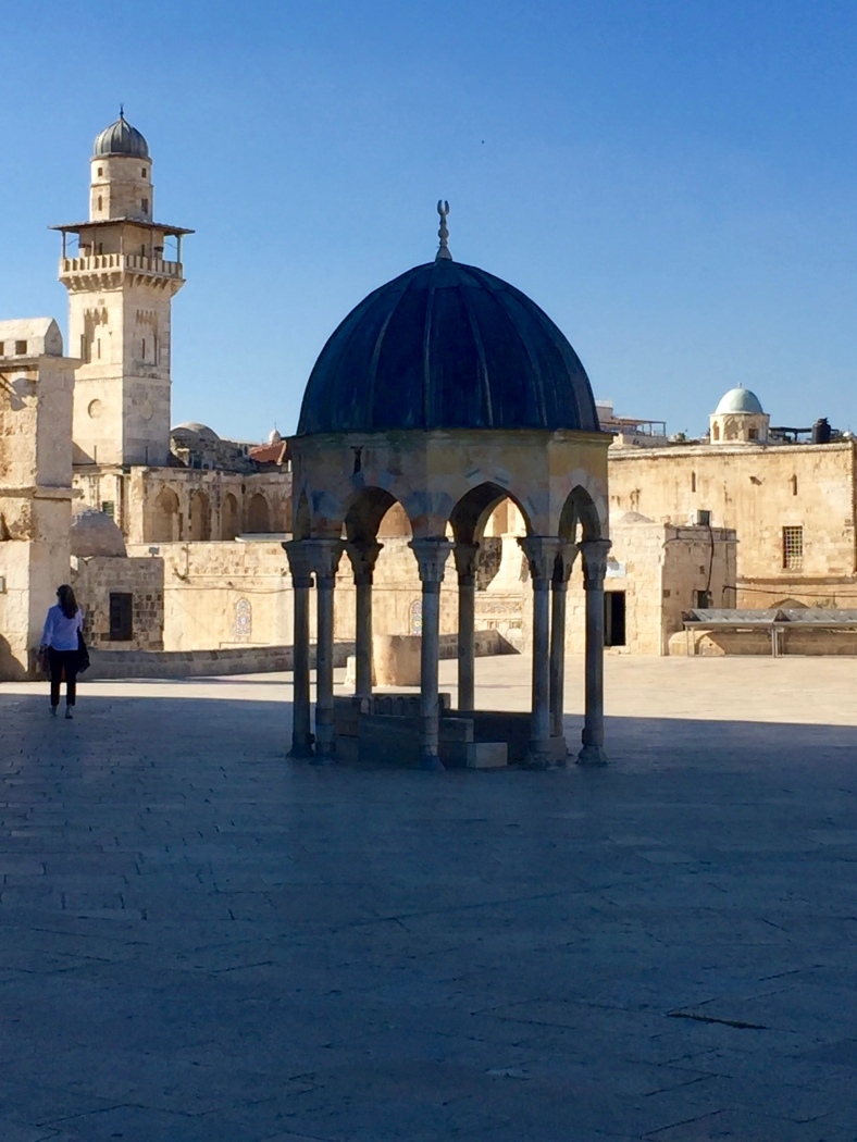 the Dome of Judgement where Jesus will sit